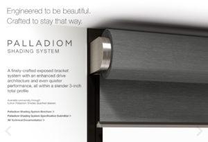 Lutron Palladiom shade control